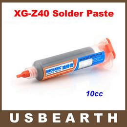 Wholesale 10cc MECHANIC Solder Paste Tin Cream XG Z40 solder flux