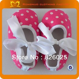 Wholesale-2015 HOT SELLING ! Baby fashion shoes cute design ribbon shoes best shoes for toddlers 24pairs lot