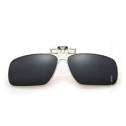 Gros-Polarized Fit Over Lunettes Lunettes de soleil HD Vision Clip sur les lunettes de soleil à la nuit Flip Up Eyewear envelopper les lunettes UV 400 5-8 hd sunglasses wrap promotion à partir de lunettes de soleil hd wrap fournisseurs