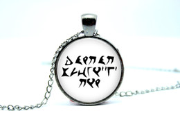 Wholesale 10pcs Star Trek Jewelry Klingon Proverb Today I Am A Warrior Glass Photo Cabochon Necklace