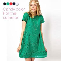 5 Colors Women Plus Size vintage Hollow Out Lace dresses party evening European Styles Ladies Cheap Casual Dress prom dresses