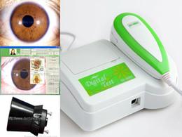 Wholesale CE M Pixels CCD USB eye Iris camera Iriscope Iridology analyzer Iridoscope camera Pro Software