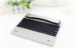Wholesale Ultra Thin Aluminum Wireless Bluetooth Keyboard For Apple iPad Tablet Screen Protector