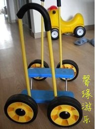 Wholesale Balance stampede car nursery toys four sensory integration training equipment balance bike fitness balance bike