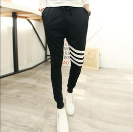 Wholesale-Hip Hop Sweat outdoor Breathable New Arrival New style 2015 fashion Casual mens harem pants Dance Jogger Baggy Trousers