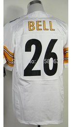 Wholesale Factory Outlet Fast Low Price Le Veon Bell White Men s Elite Football Jerseys