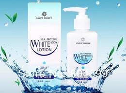 Wholesale 180ml whitening Face Body Lotion Makeup Retail Snow White Original Whitening Cream