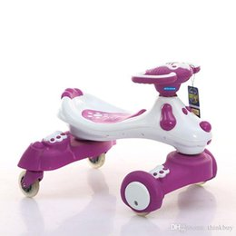 Wholesale New drift trike buggies shilly mini bike swing bike scooter four wheel bike for children aged years gift