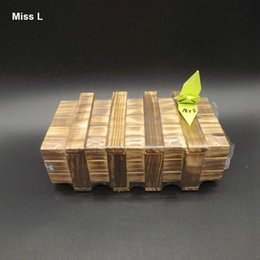 Wooden Magic Box Drawers Inside Kong Ming Lock Funny Toys Suitable For Hidden Gift Gift Teaching Prop Mind Game