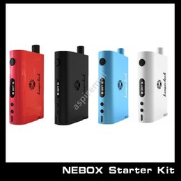 100% Original Kanger Nebox E Cigarette Starter Kits Kangertech Box Mod TC 60w Nebox Kit DHL Free