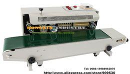 Wholesale DHL Auto V or V Continuous Sealing Machine Sealer Horizontal PVC Membrane Film Bag FR