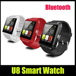 Smart Watch U8 Bluetooth Altimeter Anti-lost 1.5 inch Wrist Watch U Watch For iPhone Samsung HTC Cell Phone Brand new