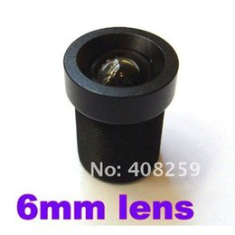 Wholesale 6mm Degree Angle IR Board CCTV Lens M12x0 for quot and quot CCD chipsets Camera Day Night