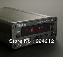 Wholesale New MUSE S7 APE FLAC Lossless Player TDA7498L T amp Audio Amplifier All in one With Remote Control