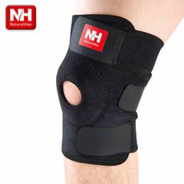 High quality fashion football basketball volleyball black durable knee shin protector guard pad pads kneepad -NatureHike