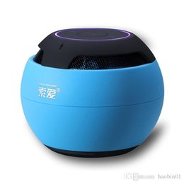 Wholesale 2015 New Soar S Bluetooth speakers Wireless hands free calls A portable card mini acoustics Support TF card