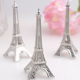 Wholesale 100 Wedding favor Eiffel Tower Place Card Holder DHL Fedex BN