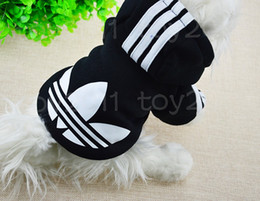 Wholesale Personalised Pet Dogs Fashion Autumn Collection Coat Jacket Clothing Sweatshirts Dogs Winter Warm Short Sleeve Hoodie Sportswear Apparel