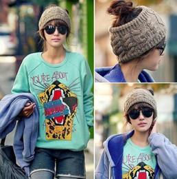 Wholesale-Twisted Knitted Yarn Empty Hat Women Winter Fashion Hair bands Accessories Headbands turban headband A24
