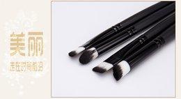 Wholesale High Quality Makeup Brushes Goat Hair Make Up Brushes Portable Pincel Maquiagem Tools Mini Brushes Set Ancient Style M063