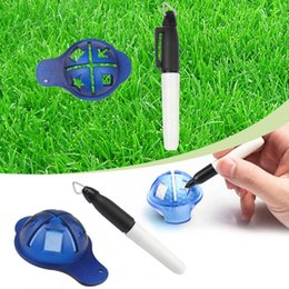 Wholesale Golf Ball Plastic Line Liner Marker Template Drawing Alignment Training Tool