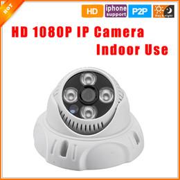 2017 dôme intérieur caméras ip ONVIF 2,0 Nuit intérieure Vision HD 1920 * 1080p 2.0MP caméra IP dôme P2P Plug and Play Cam IP pour système de caméra dôme intérieur caméras ip autorisation