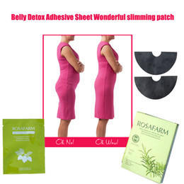 Wholesale 12pcs bags Wonder Slimming Patch for belly wing product beer belly busting flat belly fat burner