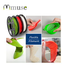Green Red White FDM 3D Printer Material 1.75mm 3mm 0.5kg Flexible Filament at Manufacturer Price