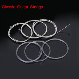 Classic Guitar Six Strings Nylon Silver Plating Set Super Light Acoustic Guitar Musical Instruments