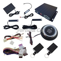 Wholesale High Quality Passive Keyless Entry Car Alarm System With Remote Start Automatic Lock Or Unlock
