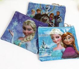 Wholesale 2015 Children Frozen Purse Elsa Anna Printed Purse Popular Kids Zero Wallet Best Christmas Gift For Baby New Arrival Children Purse LQB3
