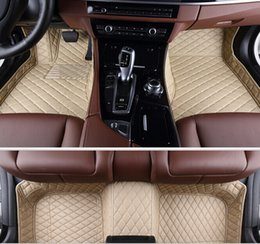 Wholesale Best quality Custom special floor mats for BMW X5 seats E70 wear resisting durable non slip carpets for X5