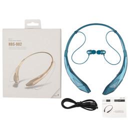 HBS902 Bluetooth Headphone Wireless CSR 4.0 HBS-902 Earphone Headset Sports Neckband for iPhone 6 Plus Samsung s5 s6 edge DHL Free EAR175