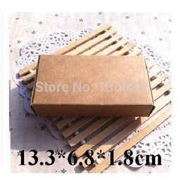 Wholesale foldable kraft cardboard paper box with no printing small production packaging box Size cm