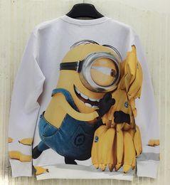 Wholesale Mikeal Fashion Men women d sweatshirts Funny print Cute Animate casual hoodies Cartoon hoody men top W155