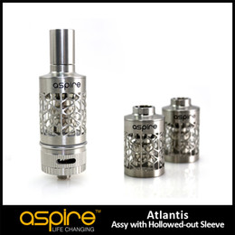 Wholesale Unique Aspire New Atlantis replacement stainless tube hollowed out sleeve ml tube Atlantis hollowed out