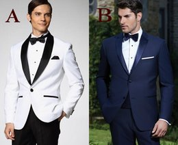 Custom Made Groomsman New Arrival Groom Tuxedos 10 Styles Men's Suit Classic Best Man Wedding PromSuits (Jacket+Pants+Tie+Girdle) J961A
