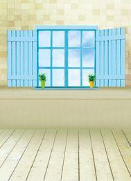 Wholesale 5x7ft Vinyl Custom Wall and Floor theme Digital Photography Backdrops Prop HG