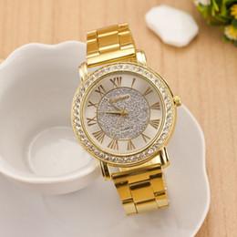 Hommes robe gros de montre en Ligne-Les hommes d'or pleine montre à quartz en acier de la montre décontractée gros-mode, les femmes habillent les hommes montre-bracelet montre-bracelet relogio, reloj 0221