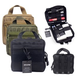 Wholesale Tactical Molle EMT First Aid Medical Kit Pouch Organizer Utility Gear Bag Pouch For Backpack