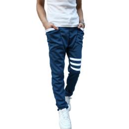 Wholesale-New 2015 Men Sport Pants Casual Fashion Cheap Hip Hop Harem Pants Outdoor Loose Tracksuit Men Sweat Pants 10 Colors