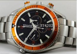 Factory Supplier Brand New Professional QUARTZ Movement Chrono Watch Sport Stainless steel BRACELET Men's WATCH