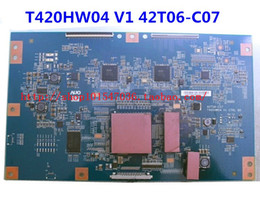 Wholesale T420HW04 V1 T06 C07 Logic board test good Best price and good service