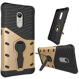 Hybrid shock proof heavy armor kickstand cover case for smartphone red mi note pro red rice not E4 red rice note 2 millet 5 millet 6