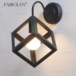 Wholesale School Park Portland neoclassical wall cafe bar fixture in American Art Antique Iron Wall P025 Industry