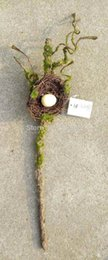 Wholesale NEW artificial foam bird nest tree branch for home wedding party garden decoration use