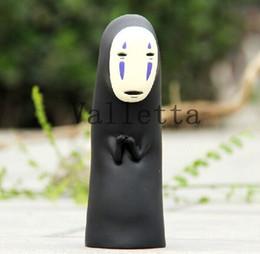 Wholesale 20cm Anime Garage Kid Hayao Miyazaki Animation Model Toy Spirited Away No Face Action Figure PVC Piggy bank