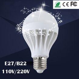 High Quality 3W 5W 7W 9W 12W LED Bulbs Energy-Saving Lights E27 B22 Globe Light Bulb Wholesale Cheap Lightings Lamp 220V-240V Free Shipping