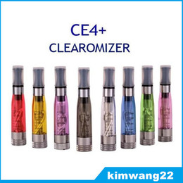 Best Ego CE4 Plus Atomizer for e cigarette kit CE4+ electronic cigarette liquid vaporizer Clearomizer replace coil