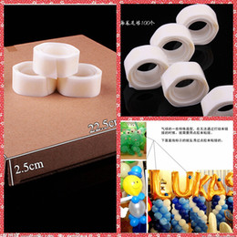 Wholesale Double Faced Adhesive Tap For Wedding Balloon Self Adhesive Glue Cheap Sale From China Wedding Decoration